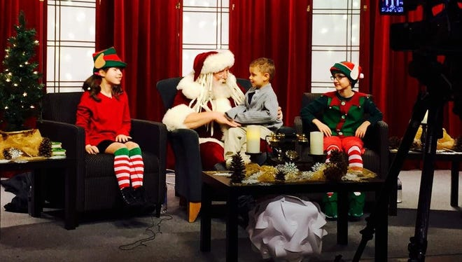 Call in or visit the CCTV Studio to talk to Santa 2 to 4 p.m. Saturday, Dec. 19.