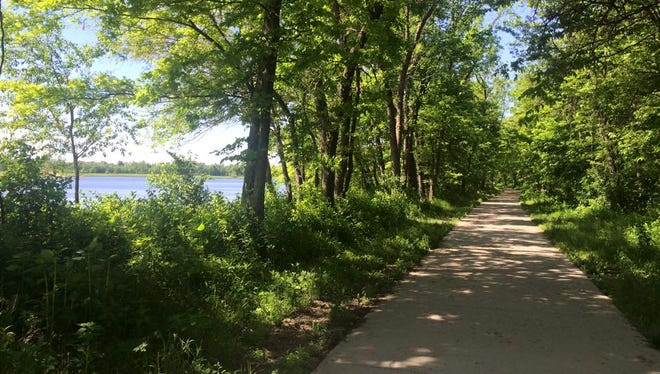 A trail at Terry Trueblood Recreation Center.