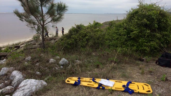 A body was located on NAS Pensacola around 1:15 Friday afternoon.