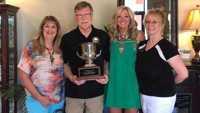 Bob Zdora was recently named the REALTOR® of the Year by a committee of his peers of the North Central Board of Realtors. Pictured are: (from left) Kriss Yunker, Chairwoman of the Realtor of the Year Award North Central Board; Bob Zdora,  Executive Broker Century 21 LeMac Z-Team 2017 Recipient; Angie Bertel, President of the North Central Board of Realtors; and Linda Zdora, Executive Broker Century 21 LeMac Z-Team Realtors.