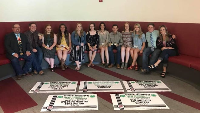 Luna County 4-H members brought home nine first-place at the State 4-H Conference held at NMSU in Las Cruces.