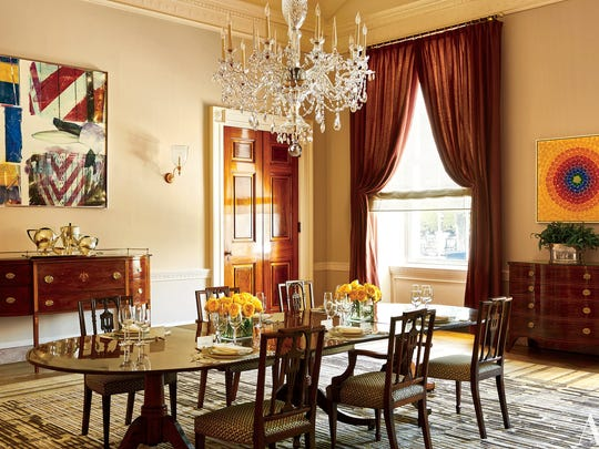 See the obamas 39 white house private quarters for the first - How much do interior designers get paid ...