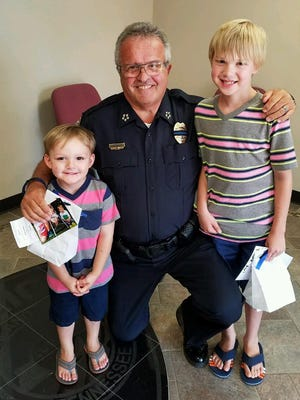 A Cheatham County family donated sweet treats to the Ashland City Police Department and Police Chief Marc Coulon.
