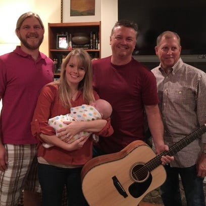 Guitar honoring infant to be raffled for charity