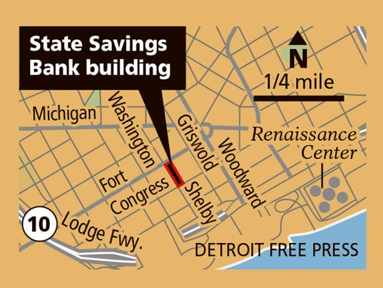 DFP state savings bank MAP
