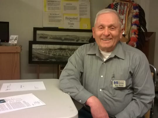 Ray Read of the Montana Military Museum in Helena says