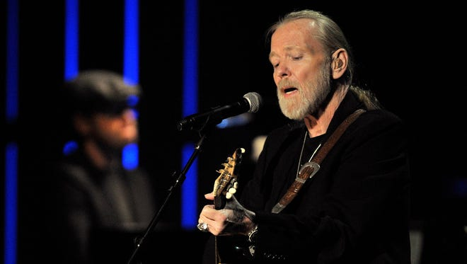 File- This Oct. 13, 2011, file photo shows Gregg Allman performing at the Americana Music Association awards show in Nashville, Tenn.