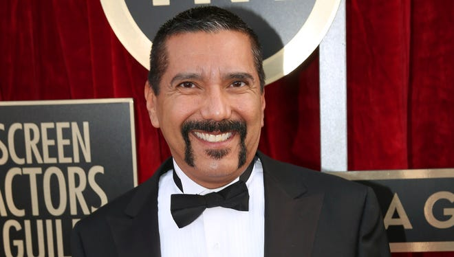 """Steven Michael Quezada, an actor on the series """"Breaking Bad,"""" arrives at the 20th annual Screen Actors Guild Awards in Los Angeles."""