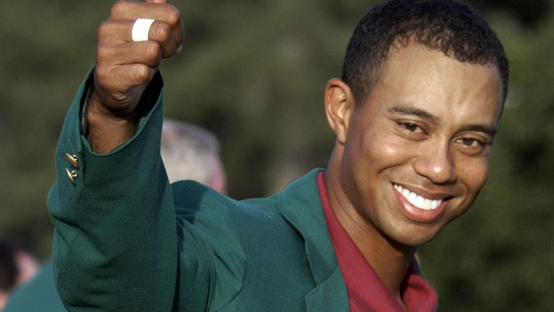 Golf fans are crazy excited about Tiger's return