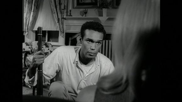 "Duane Jones in a scene from ""Night of the Living Dead."""