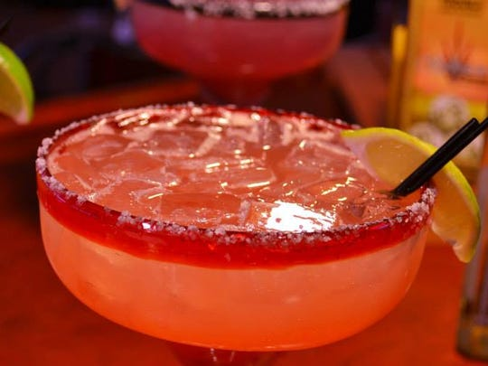 Camelia's Mexican Grill serves margaritas at its Royal