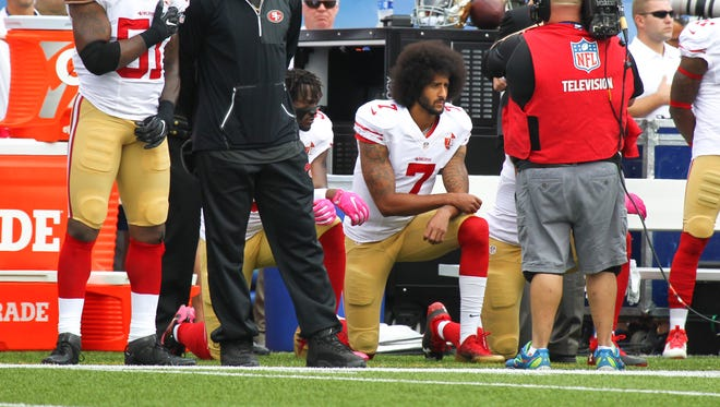NFL owners have hired abusers of women to play for them. These are people who for decades pretended that their former players' bruised brains didn't owe to playing professional football. And now they get religion when the subject is Colin Kaepernick?