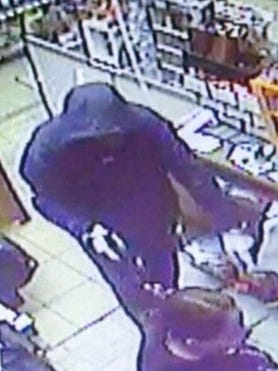 This man allegedly robbed a gas station in Cortlandt on Tuesday.