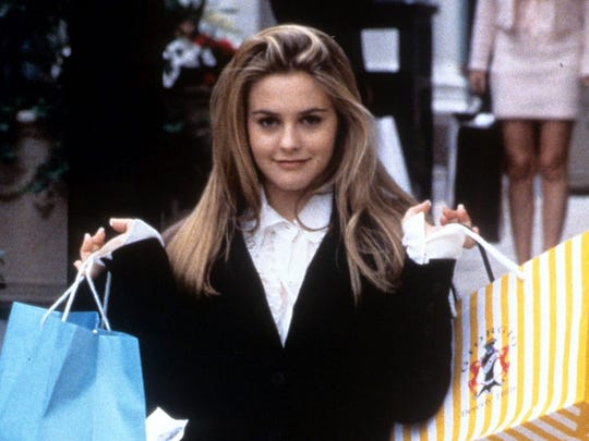 "Alicia Silverstone stars in ""Clueless."""