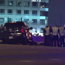 Police respond to the accident on N. Sam Houston Pkwy