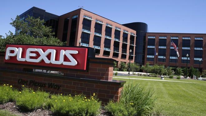Plexus Corp.'s global headquarters in Neenah.