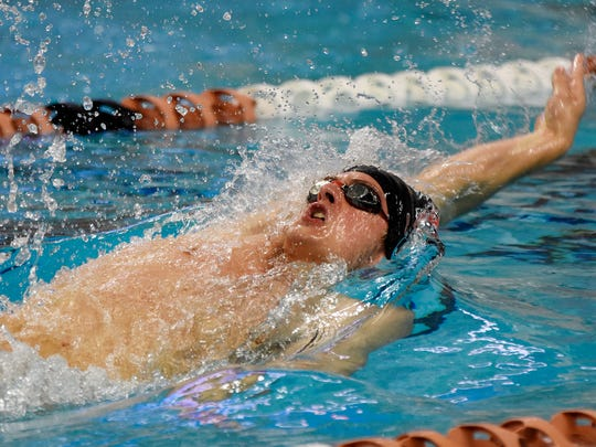 York Suburban graduate Coleman Stewart ranks second in the 100 and 200 backstroke on the North Carolina State swim team behind junior All-American Hennessey Stuart.