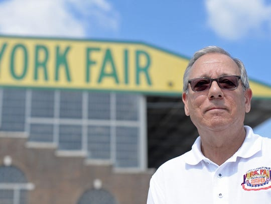 Mike Froehlich, general manager of the York Fair, said