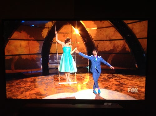 Valerie and Ricky do some swing dancing. (Photo: Fox)