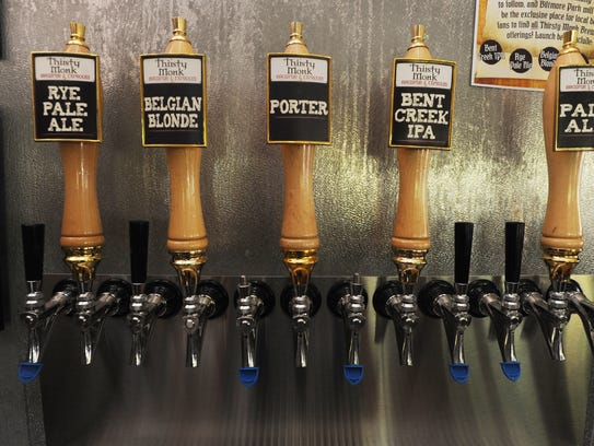 Asheville's Thirsty Monk pubs and brewery is buying