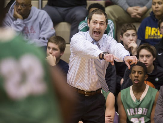 Former Cathedral High School head coach Andy Fagan