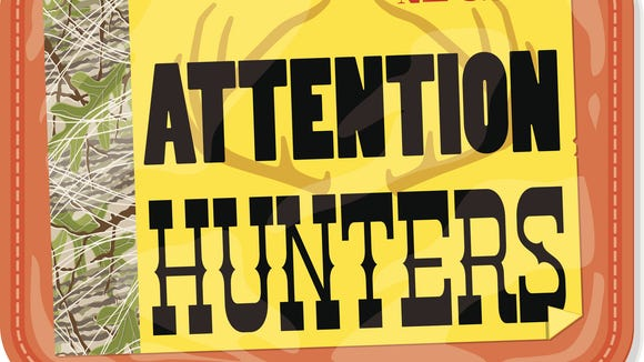 Hunting licenses go on sale next week.