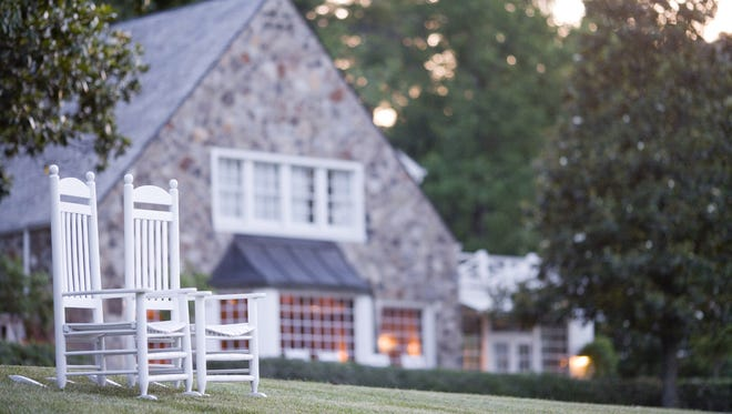 Blackberry Farm, a luxury resort in the foothills of the Great Smoky Mountains in Walland, Tenn.