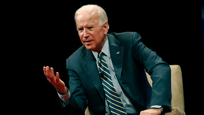 """Former U.S. Vice PresidentJoe Biden said a small percentage of Donald Trump voters are """"virulent"""" and the """"dregs of society."""""""