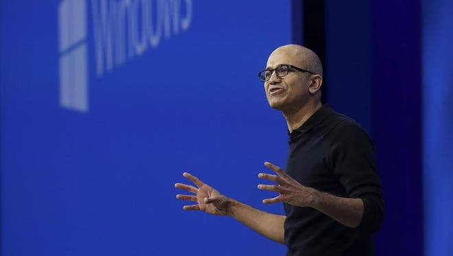 Microsoft CEO Satya Nadella has most analysts and investors bullish on his redirection of the storied tech company.