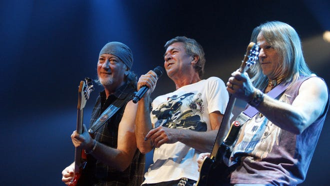 Roger Glover, Ian Gillan and Steve Morse of English rock band Deep Purple are coming to Fantasy Springs Casino in Indio.
