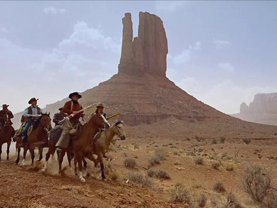 "John Ford filmed ""The Searchers"" in Monument Valley."