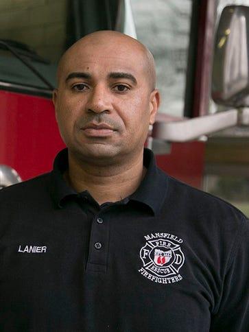 """Jermaine """"Jerry"""" Lanier has been a firefighter/EMT"""