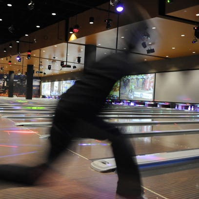 Luxury bowling is a big part of the entertainment experience