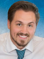 Joshua Burkholder is the Democratic candidate for the 4th Congressional District seat.