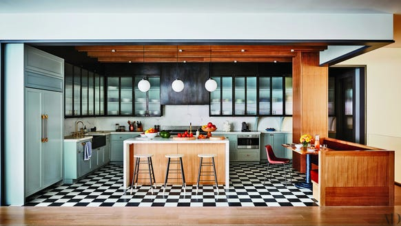 The kitchen of Naomi Watts' New York City home.