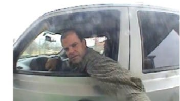 Boone County authorities are looking for a man they believe was involved in a string of thefts from vehicles throughout the area.