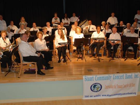 The Stuart Community Concert Band is a multigenerational