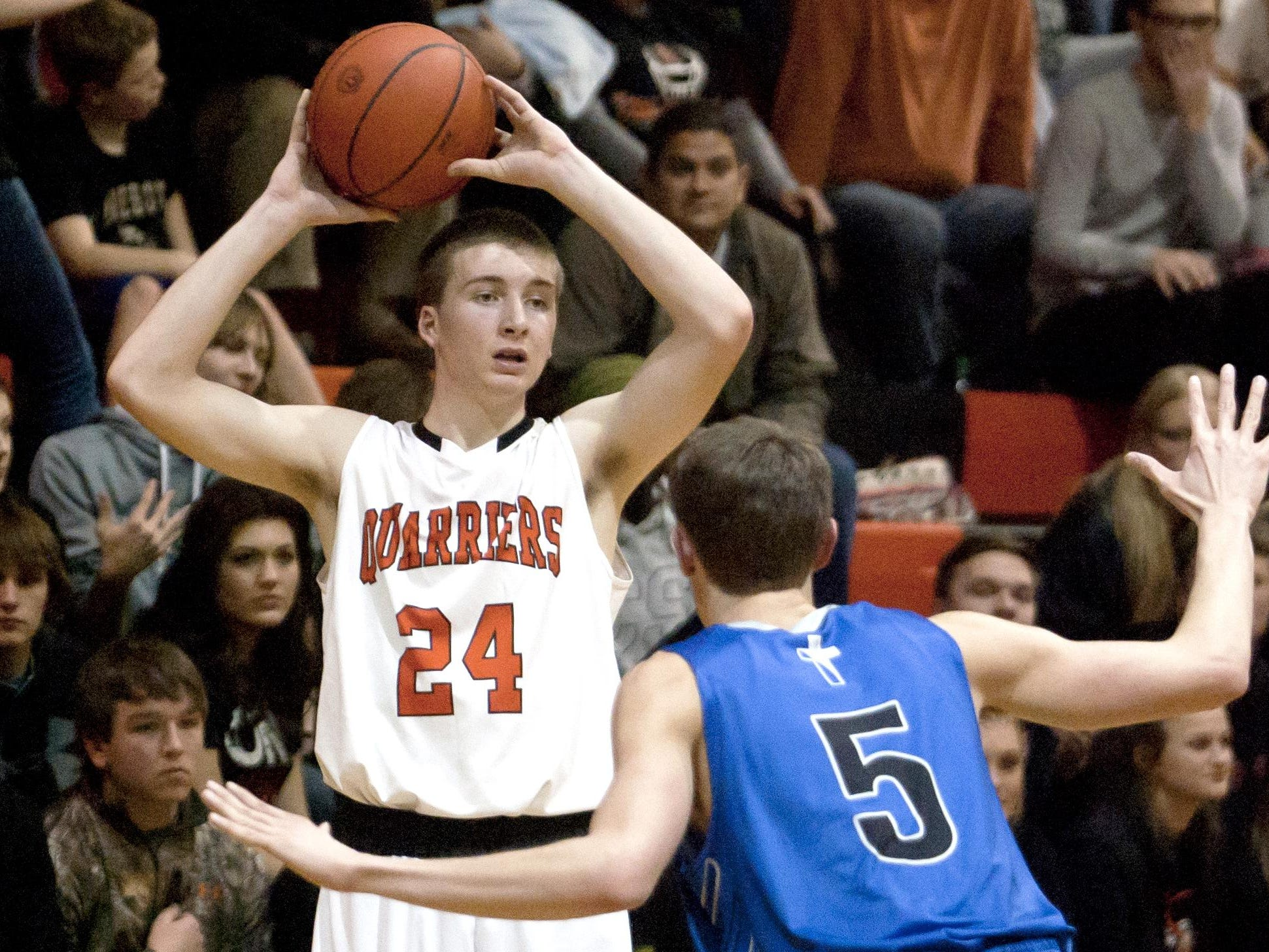 Ty Hoglund of Dell Rapids was a First Team Dakota 12 All-Conference selection and the conference's Player of the Year.