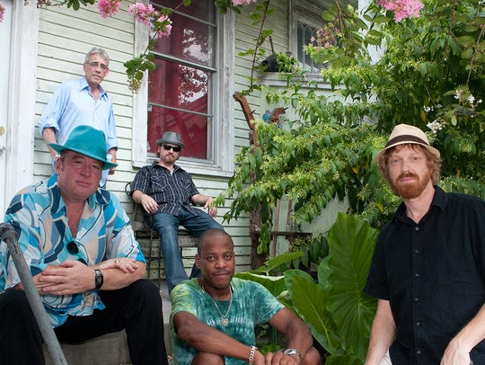 The New Orleans Suspects band brings the funk and sub-sea
