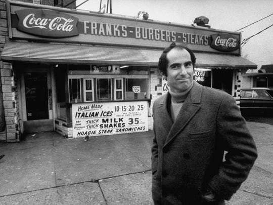 Author, Philip Roth, revisiting areas where he grew