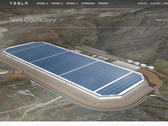 Tesla is building a massive Gigafactory east of Reno,