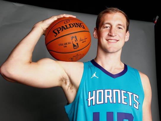 Charlotte Hornets center Cody Zeller