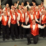 The Mighty Oak Chorus will perform 2 p.m. and 7:30 p.m. on Saturday, May 7 at the Central Valley High School theatre.