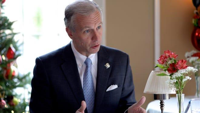 Assemblyman John Wisniewski, a candidate for governor, has called front-runner Phil Murphy an elitist Wall Street insider.