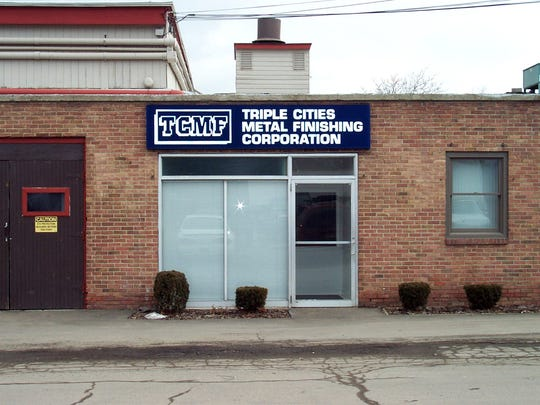 The former electroplating site for Triple Cities Metal Finishing at 926 Stowell St. in Elmira.