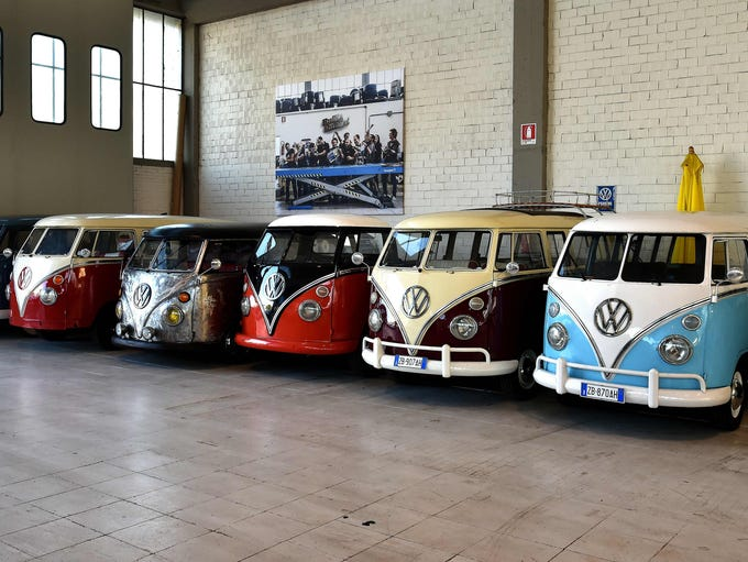 Vw Microbus Through The Years