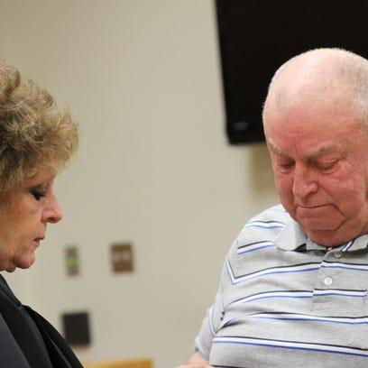 Ron Rohn, a Navy veteran, said the hardest part of