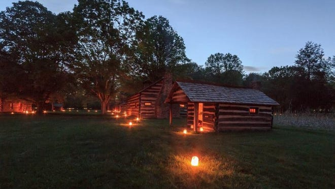 Lantern tours are available this weekend at Historic Schoenbrunn Village in New Philadelphia. Submitted photo