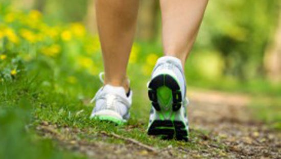Walking as exercise