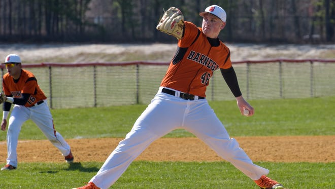 Barnegat is 2-0 since  NJSIAA announced senior left-hander Jason Groome was ineligible for the next two weeks because of a violation of the NJSIAA transfer rule